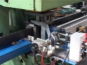 Автоматическая линия перфорации замкнутых и разомкнутых горячекатаных профилей