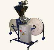 Фасовочный автомат для пылящих сыпучих продуктов,  порошкообразных продуктов