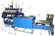 Автоматическая линия для упаковки рулонов специализированной пленки