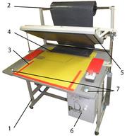 Полуавтоматическая установка для производства бахил