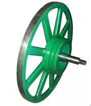 Проточка и балансировка пильных шкивов  (колёс) для пилорам